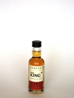 Wemyss Spice King 12 Year Old Blended Malt Scotch Whisky Front side