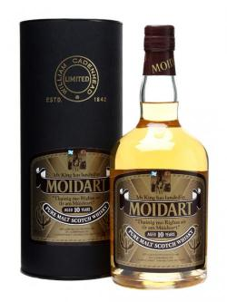 A bottle of Moidart 10 Year Old Blended Malt Scotch Whisky