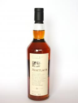 Mortlach 16 year Front side