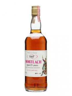 A bottle of Mortlach 1969 / 21 Year Old / Sherry Wood Speyside Whisky