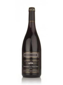 A bottle of Morton Estate 2005 Marlborough Pinot Noir Black Label