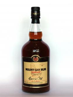 Mount Gay Rum Extra Old Front side