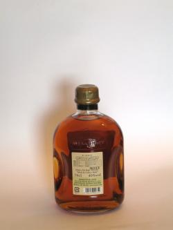 A photo of the back side of a bottle of Nikka All Malt Pure and Rich