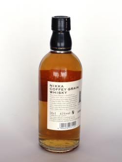 Nikka Coffey Grain Whisky Japanese Grain Whisky Back side