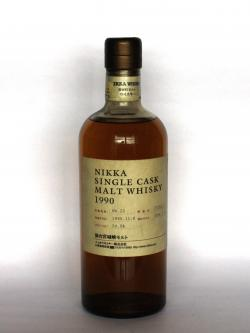 Nikka Miyagikyo 1990 Single Cask Front side