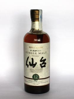 Nikka Sendai 12 year Front side