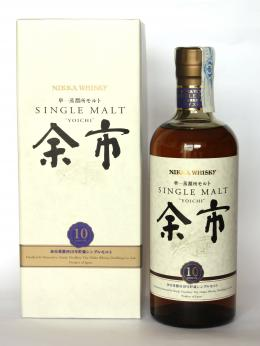 a bottle of Nikka Yoichi 10 years old
