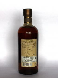Nikka Yoichi 15 year Back side