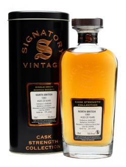 A bottle of North British 1991 / 20 Year Old / Californian Sherry Cask Single Whisky