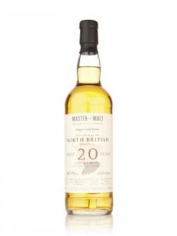 North British 20 year 1991 Single Cask Master of Malt