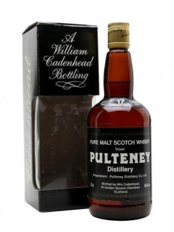 Old Pulteney 1967 / 17 Year Old / Cadenhead's Highland Whisky