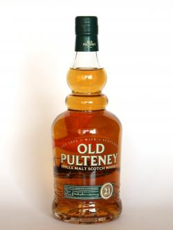 Old Pulteney 21 year Front side