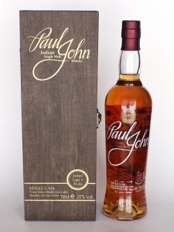 Paul John Single Cask Whisky / #P1-161 Single Malt Indian Whisky