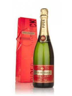A bottle of Piper-Heidsieck Cuvée Brut Champagne