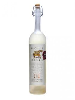 A bottle of Poli Miele Honey Liqueur