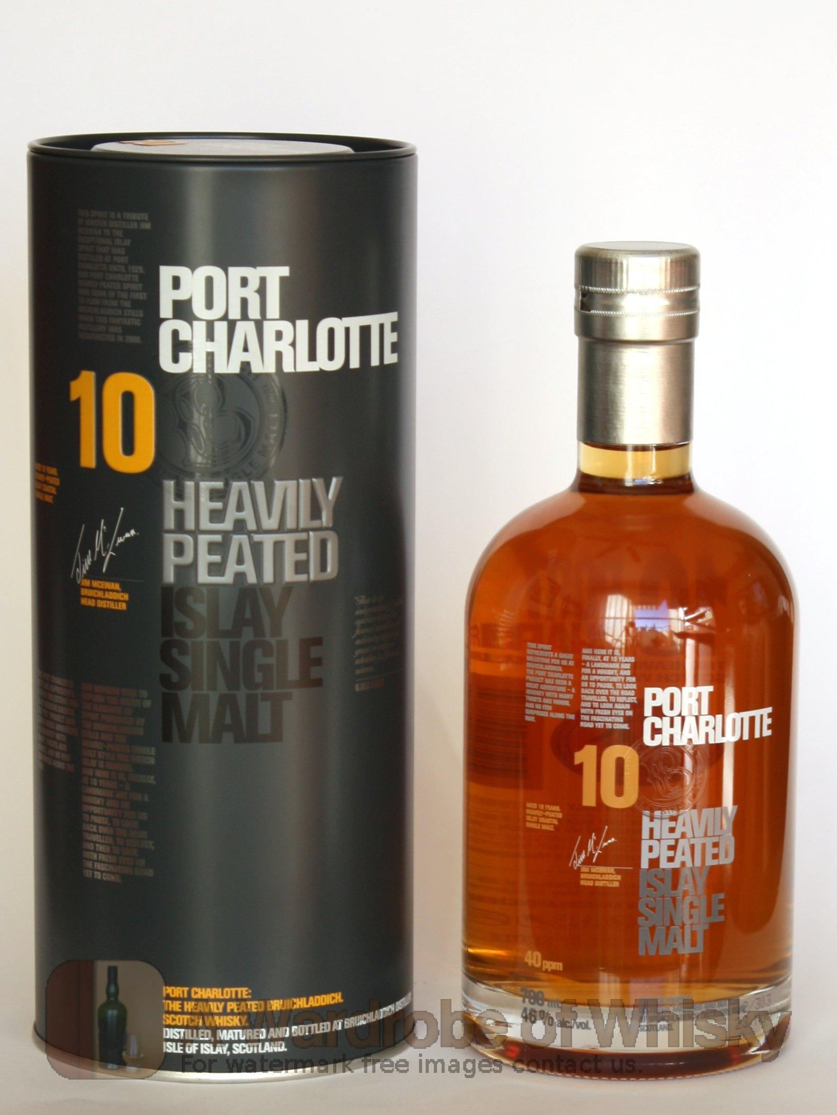 Buy port charlotte 10 year old heavily peated single malt - Bruichladdich port charlotte heavily peated ...