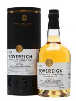 Port Dundas 1988 / 26 Year Old / Bot.2015 / Sovereign Single Whisky