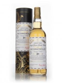 A bottle of Port Dundas 21 Year Old 1992 (cask 9452) - The Clan Denny (Douglas Laing)