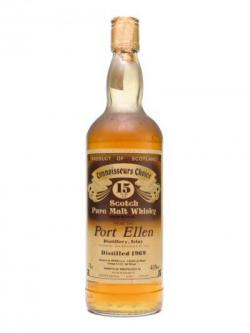 Port Ellen 1969 / 15 Year Old / Connoisseurs Choice Islay Whisky