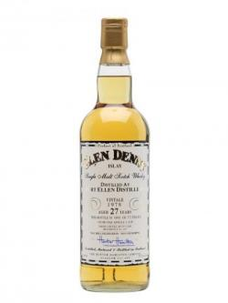 Port Ellen 1978 / 27 Year Old / Cask #607 / Clan Denny Islay Whisky