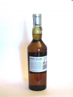 Port Ellen 3rd Release 24 year Back side