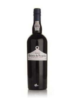 A bottle of Quinta do Vesuvio 2003 Vintage Port