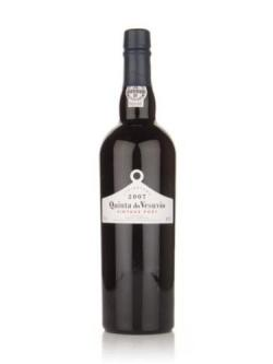 A bottle of Quinta do Vesuvio 2007 Vintage Port