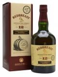 A bottle of Redbreast 12 Year Old Cask Strength / Batch B1/16