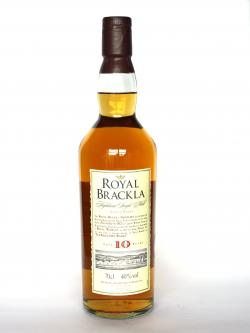 Royal Brackla 10 year Front side