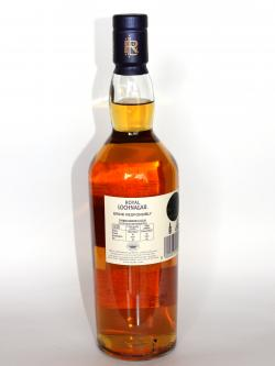 Royal Lochnagar 12 year Back side