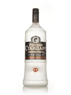 A bottle of Russian Standard 1.5l