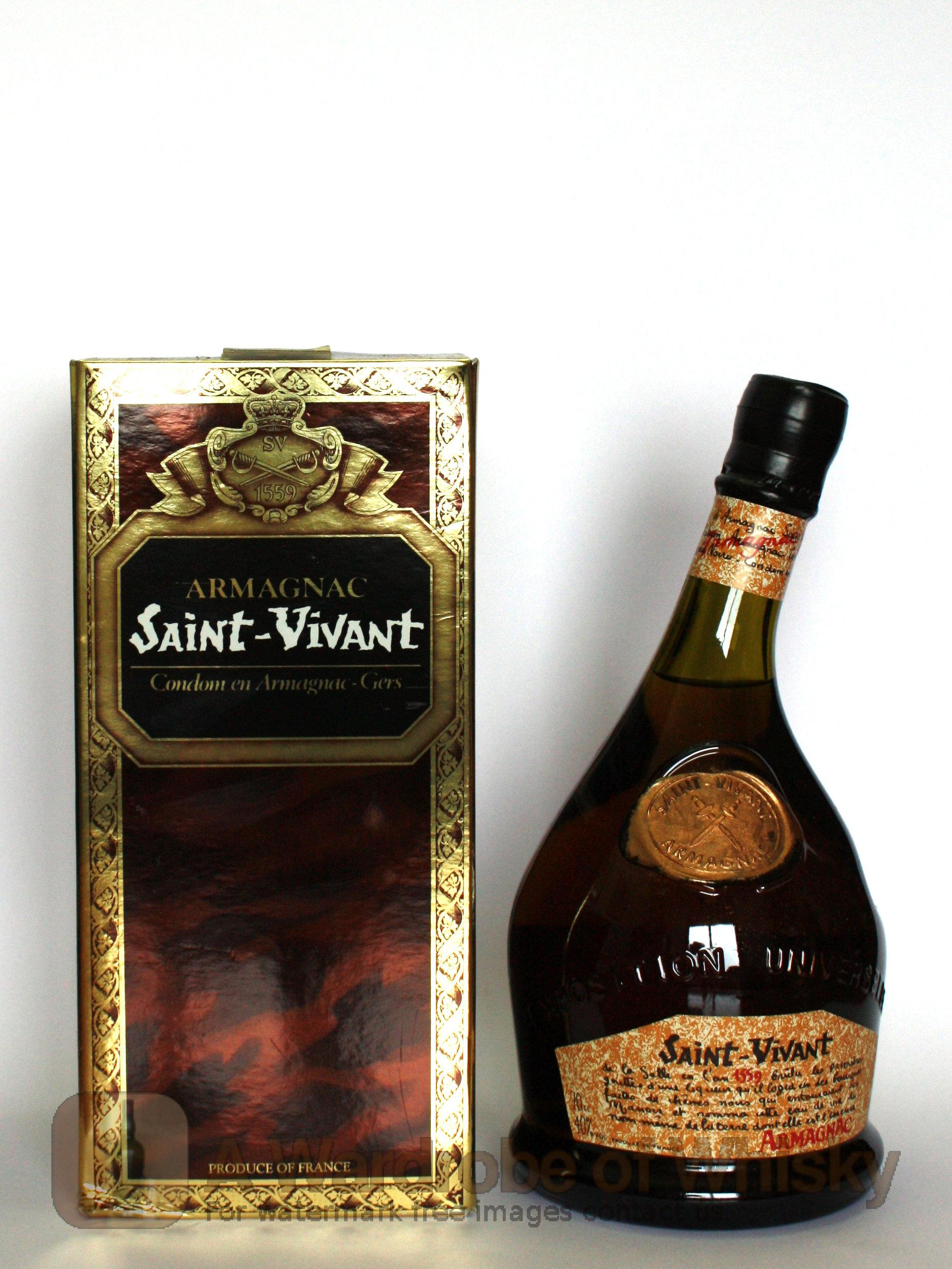 Buy Saint Vivant Armagnac Brandy Saint Vivant Whisky