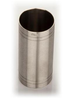 A bottle of 70ml Stainless Steel Thimble Measure - Jigger