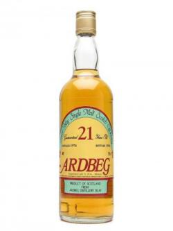 Ardbeg 1974 / 21 Year Old / Sestante Islay Single Malt Scotch Whisky