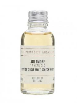 Aultmore 12 Year Old Sample Speyside Single Malt Scotch Whisky