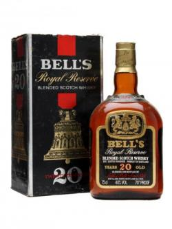 Bell's Royal Reserve 20 Year Old / Bot.1980s Blended Scotch Whisky
