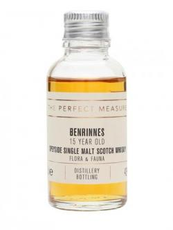 Benrinnes 15 Year Old Sample Speyside Single Malt Scotch Whisky