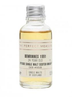 Benrinnes 1991 Sample / 24 Year Old / Single Malts of Scotland Speyside Whisky