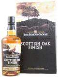 A bottle of Blended Scotch Famous Grouse Scottish Oak Finish