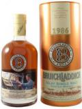A bottle of Bruichladdich 19 Year Old 50th Anniversary