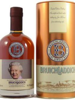 Bruichladdich Valinch Queen's 80th Birthday