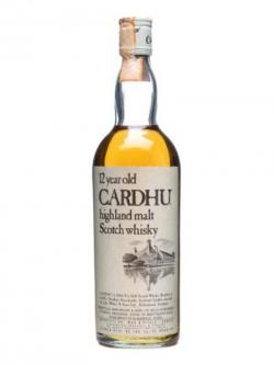 Cardhu 12 Year Old / Bot.1980s