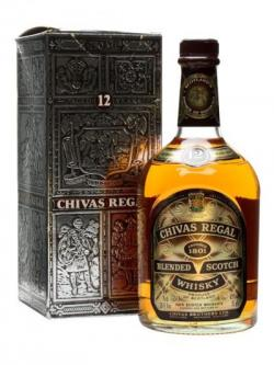 Chivas regal bottle back