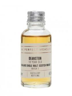 Deanston 18 Year Old Sample / Batch 1 Highland Whisky