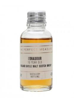 Edradour 10 Year Old Sample Highland Single Malt Scotch Whisky