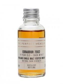 Edradour 2002 Sample / 14 Year Old / Sherry Cask Highland Whisky