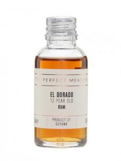 El Dorado Rum 12 Year Old Sample