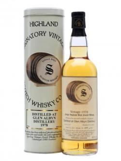 Glen Albyn 1978 / 24 Year Old / Signatory Highland Whisky
