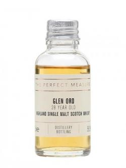 Glen Ord 28 Year Old Sample Highland Single Malt Scotch Whisky