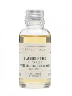 Glenburgie 1998 Sample /17 Year Old Single Malts of Scotland Speyside Whisky